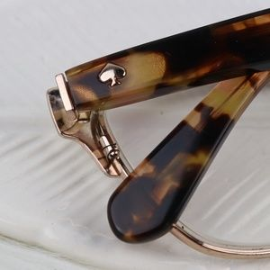 59089fb2289 kate spade Accessories - Kate Spade Ladonna Gold Glitter Eye Glasses